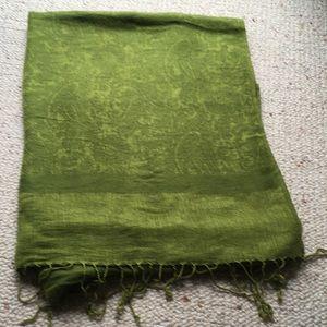 Spring green pashmina